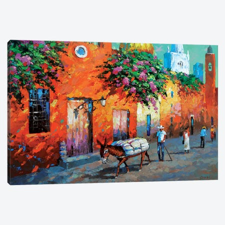 Mexican Caslle Canvas Print #DMT108} by Dmitry Spiros Canvas Print