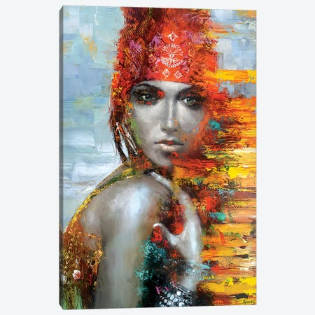 Nataly Canvas Print #DMT119} by Dmitry Spiros Canvas Art