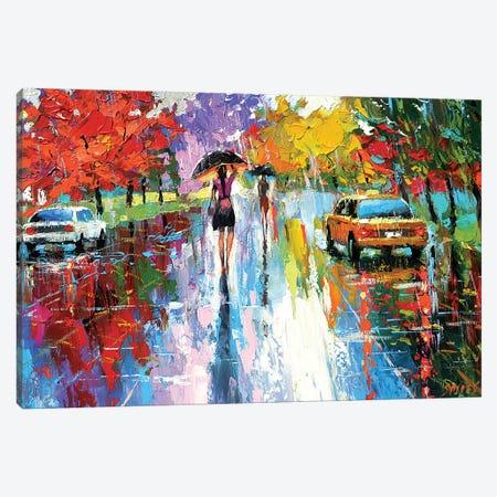 Autumn Kaleidoscope Canvas Print #DMT11} by Dmitry Spiros Canvas Art Print