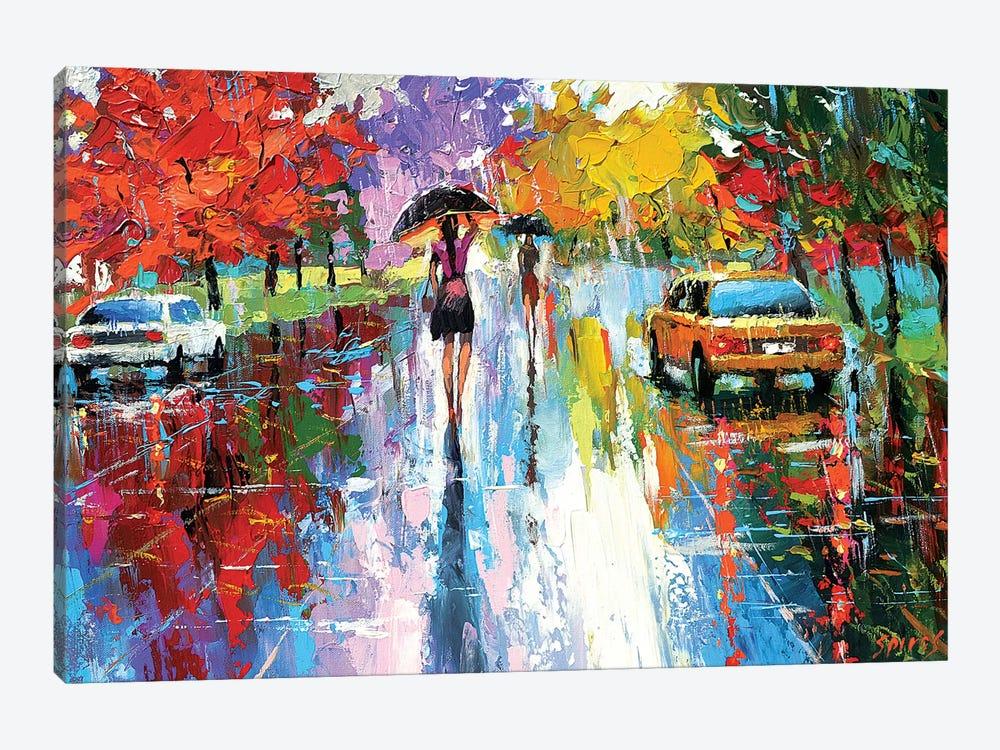 Autumn Kaleidoscope by Dmitry Spiros 1-piece Canvas Art