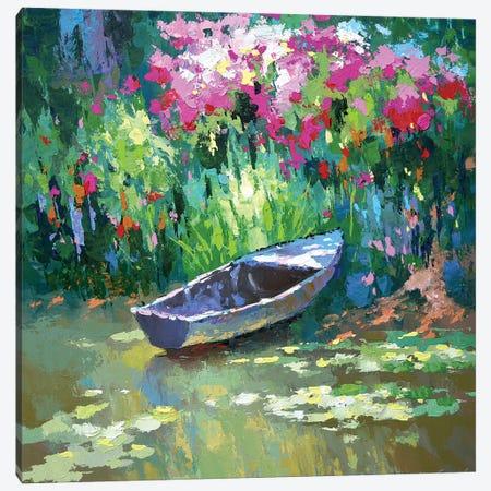 Old Pond Canvas Print #DMT129} by Dmitry Spiros Art Print