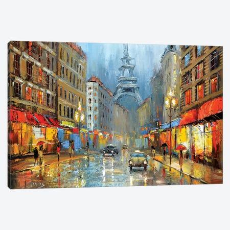 Paris Canvas Print #DMT135} by Dmitry Spiros Canvas Art Print