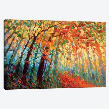 Autumn Lace Canvas Print #DMT13} by Dmitry Spiros Canvas Art Print