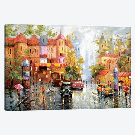 Rainy Day Canvas Print #DMT146} by Dmitry Spiros Canvas Art