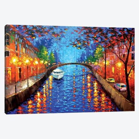 Romantic Evening IV Canvas Print #DMT153} by Dmitry Spiros Canvas Wall Art