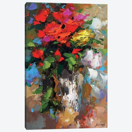 Roses I Canvas Print #DMT154} by Dmitry Spiros Canvas Print