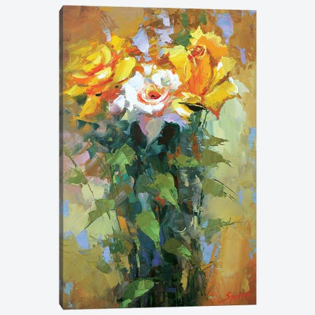 Roses II Canvas Print #DMT155} by Dmitry Spiros Canvas Print