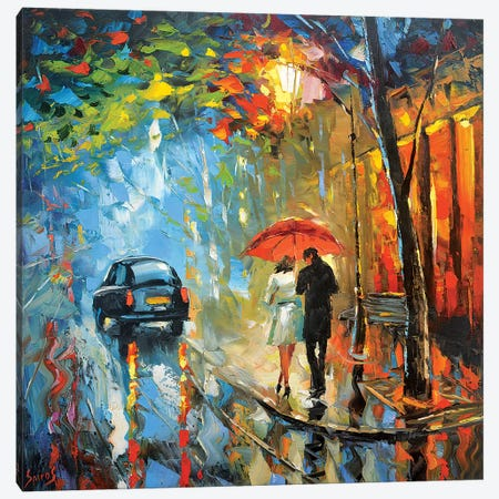 September Rain Canvas Print #DMT159} by Dmitry Spiros Canvas Artwork