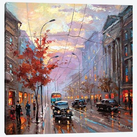 Autumn Rhapsody Canvas Print #DMT15} by Dmitry Spiros Canvas Artwork