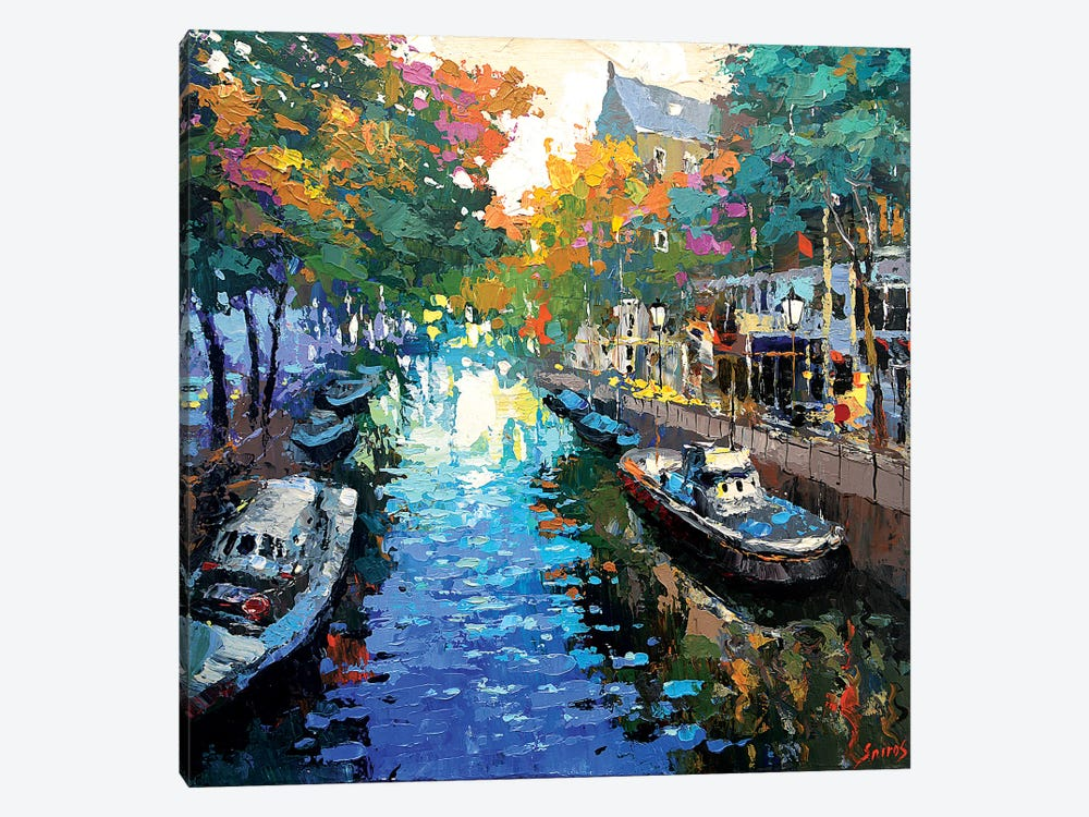 The First Colours Of Autumn by Dmitry Spiros 1-piece Canvas Art