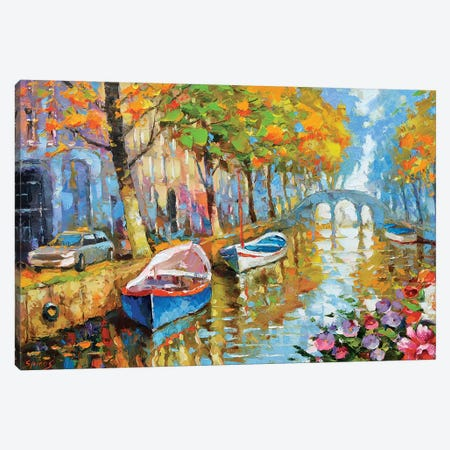 The Fragrant Smell Of Autumn Canvas Print #DMT171} by Dmitry Spiros Canvas Artwork