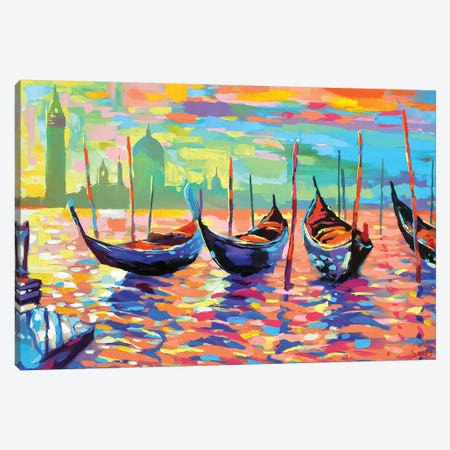 Venice Canvas Print #DMT180} by Dmitry Spiros Canvas Art Print