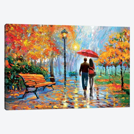 We Met In The Park II Canvas Print #DMT193} by Dmitry Spiros Canvas Artwork