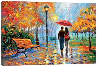 We Met In The Park II Canvas Art Print