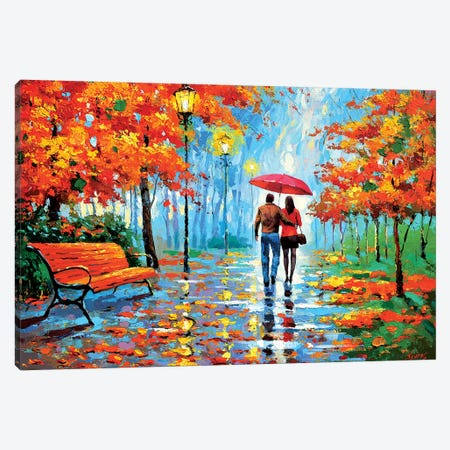 We Met In The Park III Canvas Print #DMT194} by Dmitry Spiros Canvas Art Print