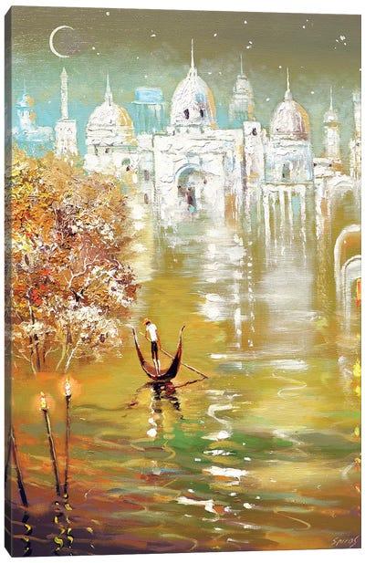 White City Canvas Art Print