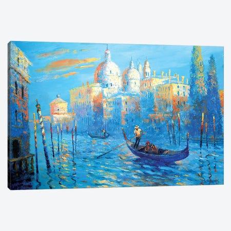 Blue Venice Canvas Print #DMT27} by Dmitry Spiros Canvas Art Print