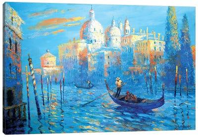 Blue Venice Canvas Art Print