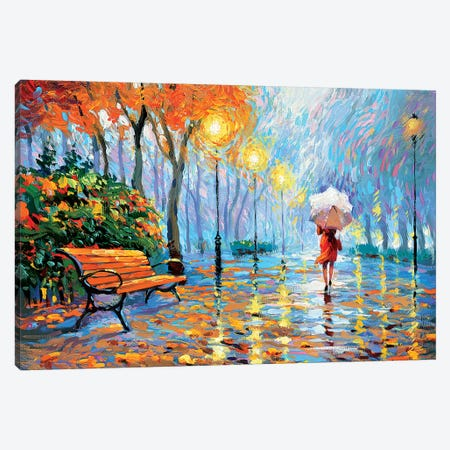 Breath Of Autumn Canvas Print #DMT34} by Dmitry Spiros Canvas Art