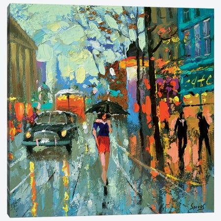 Brooding Rain Canvas Print #DMT36} by Dmitry Spiros Canvas Artwork
