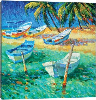 Caribbean Day Canvas Art Print