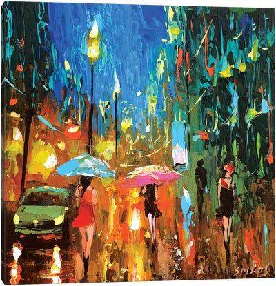 Emerald Night Canvas Art Print