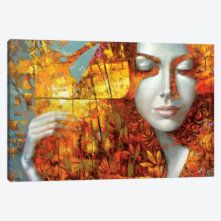 Femi Canvas Print #DMT68} by Dmitry Spiros Canvas Artwork