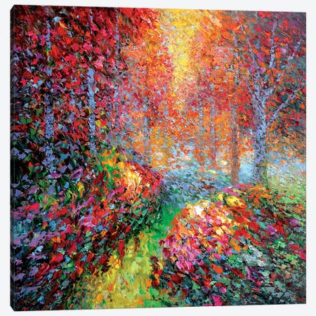 Garden Autumn Canvas Print #DMT79} by Dmitry Spiros Canvas Print