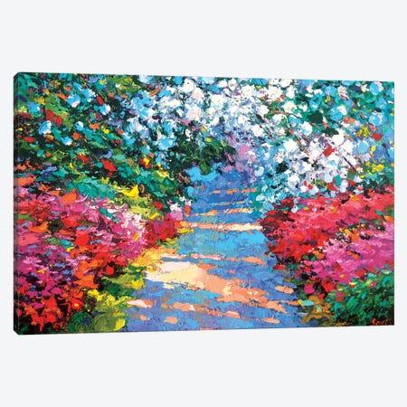 Garden Path Canvas Print #DMT80} by Dmitry Spiros Canvas Art