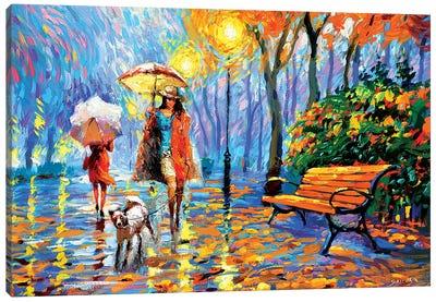 Golden Autumn I Canvas Art Print
