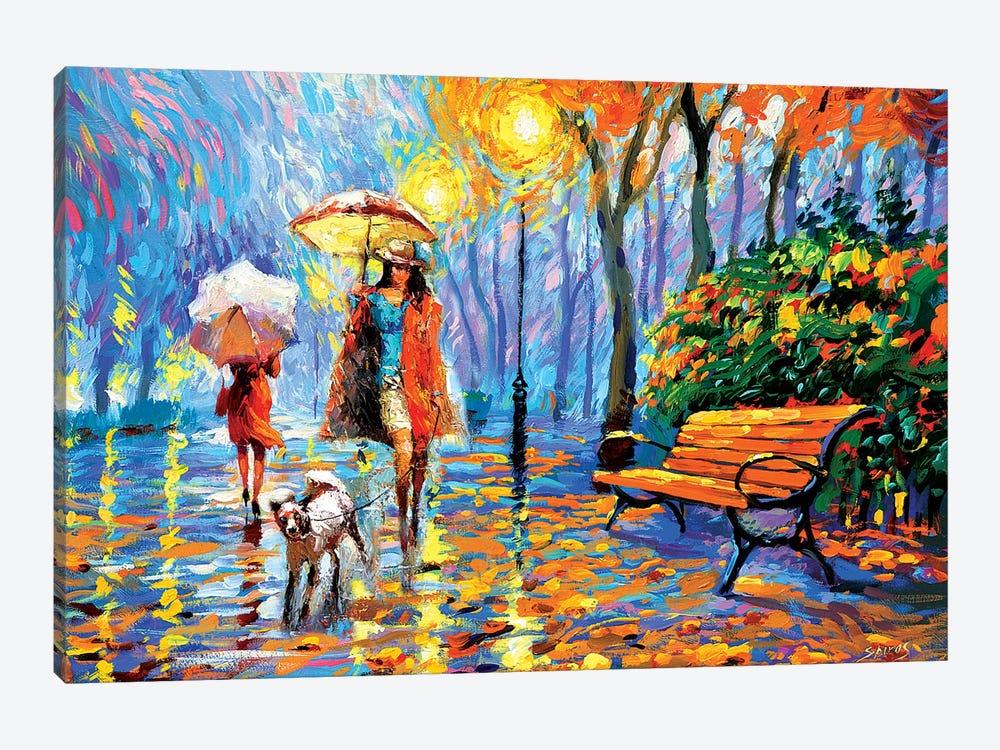 Golden Autumn I by Dmitry Spiros 1-piece Canvas Art