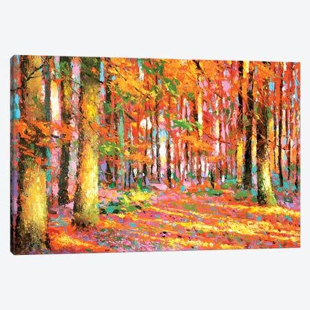 Golden Autumn II Canvas Print #DMT85} by Dmitry Spiros Canvas Art Print
