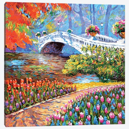 In Septembers Park Canvas Print #DMT90} by Dmitry Spiros Canvas Print