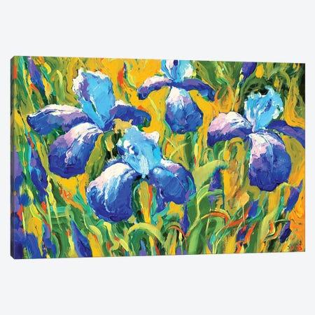 Iris Canvas Print #DMT94} by Dmitry Spiros Canvas Wall Art