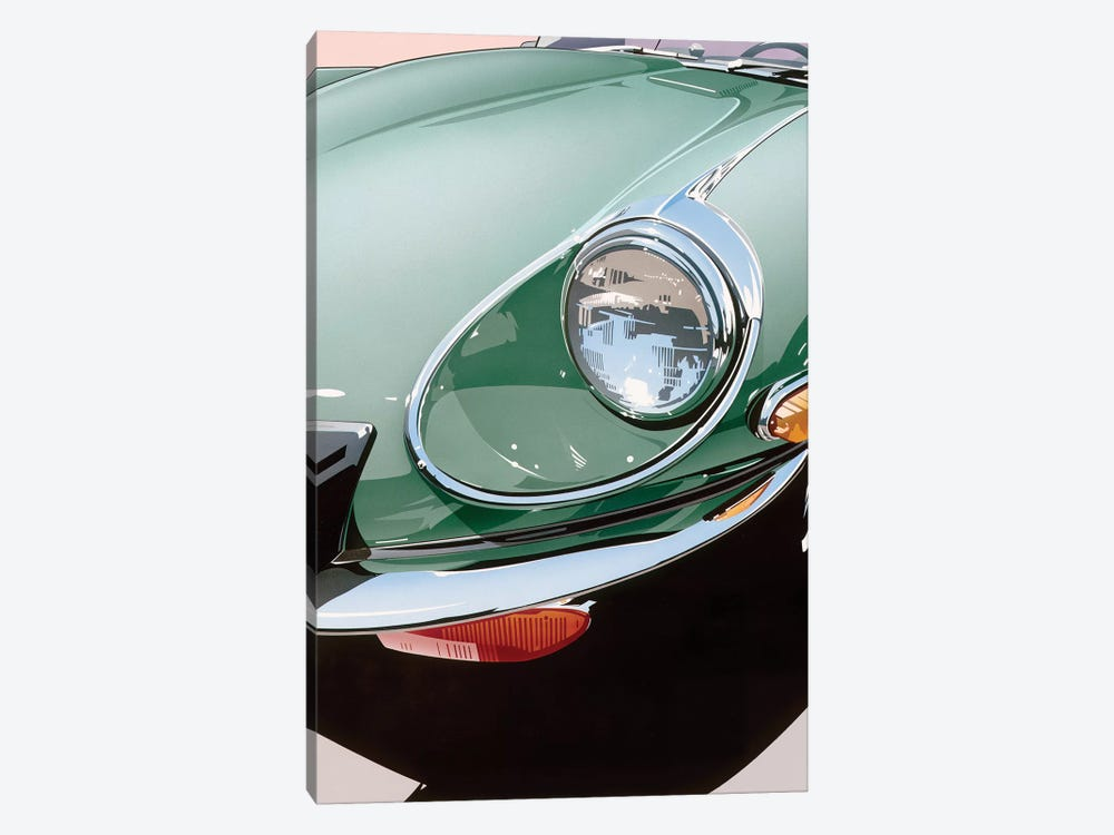 Headlight by Dennis Mukai 1-piece Art Print