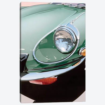 Headlight Canvas Print #DMU2} by Dennis Mukai Art Print