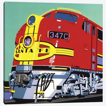 Santa Fe Canvas Print #DMU4} by Dennis Mukai Canvas Wall Art
