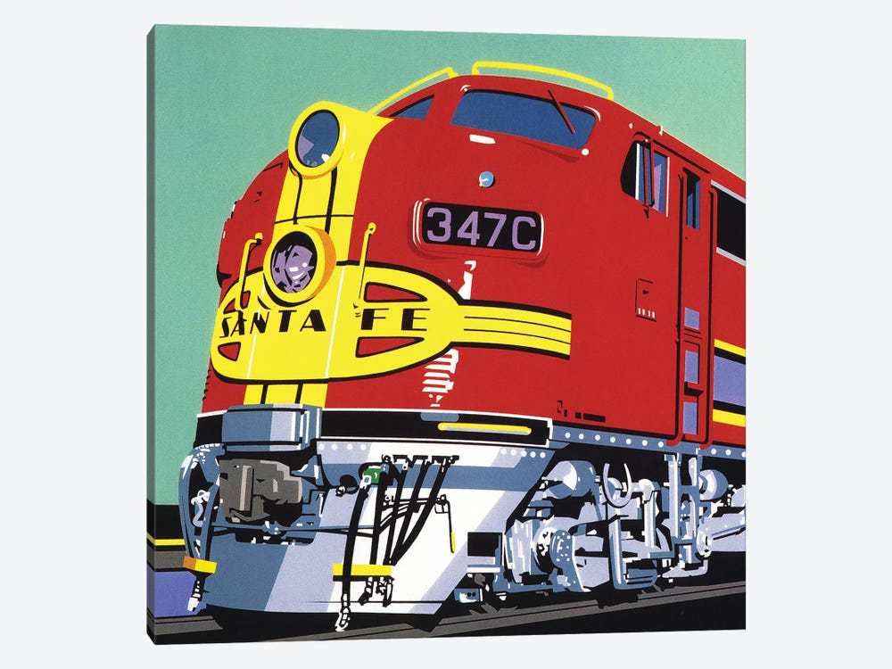 Santa Fe by Dennis Mukai 1-piece Canvas Print