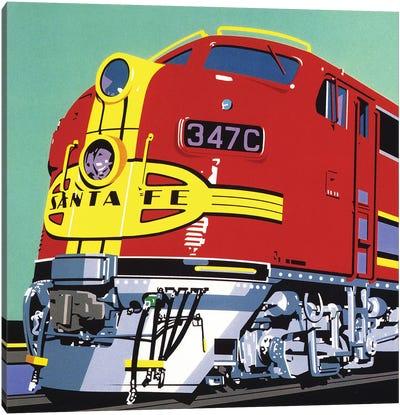 Santa Fe Canvas Art Print