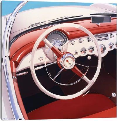 Steering Canvas Art Print