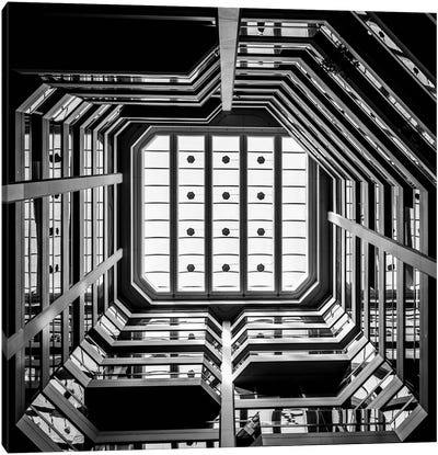 Silicon Chip Canvas Art Print