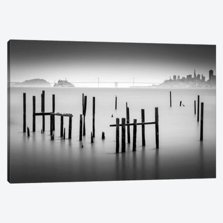 Sausalito Canvas Print #DMV30} by Dave MacVicar Canvas Print