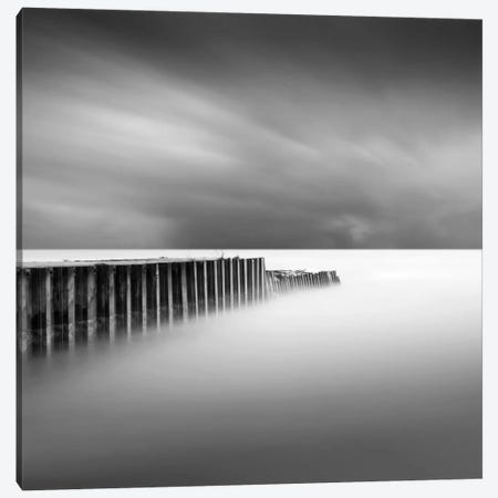 Stormy Canvas Print #DMV35} by Dave MacVicar Canvas Wall Art