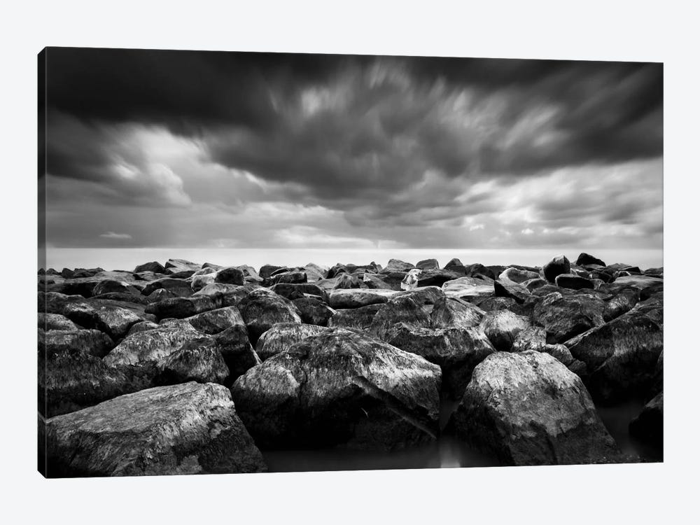 Breakwater by Dave MacVicar 1-piece Canvas Print