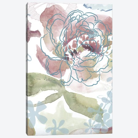 Bouquet Of Dreams IV Canvas Print #DNA10} by Delores Naskrent Canvas Art