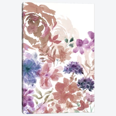 Bouquet Of Dreams V Canvas Print #DNA11} by Delores Naskrent Canvas Wall Art