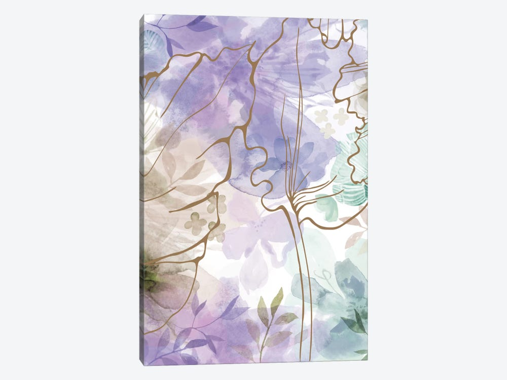 Bouquet Of Dreams VII by Delores Naskrent 1-piece Canvas Art Print