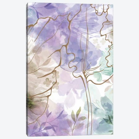 Bouquet Of Dreams VII Canvas Print #DNA13} by Delores Naskrent Canvas Wall Art