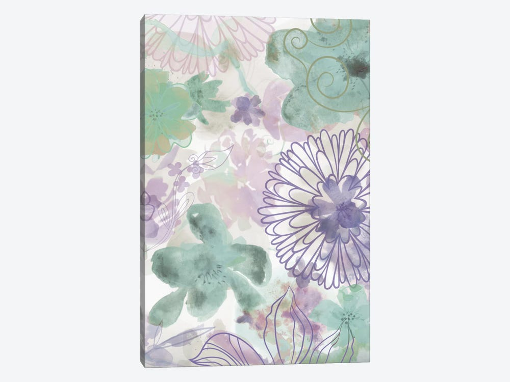 Bouquet Of Dreams VIII by Delores Naskrent 1-piece Canvas Wall Art