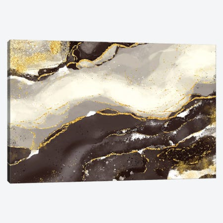 Bisque Glimmer Canvas Print #DNA24} by Delores Naskrent Canvas Artwork